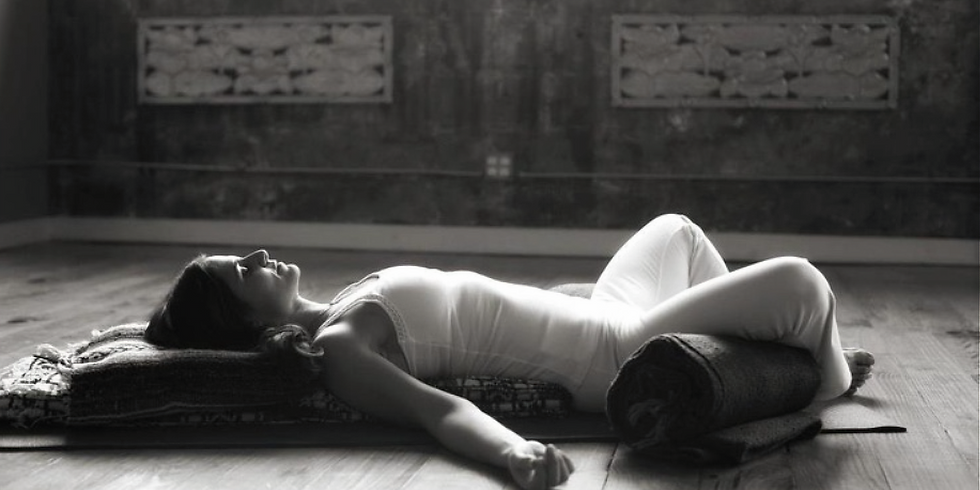 Permissions to Pause: Restorative Yoga Workshop with Danielle Beyers