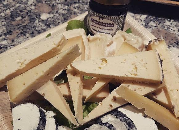 Plateau de fromages 100% locavore 2-3 personnes à partir de