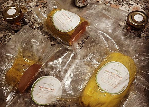 Foie Gras de Canard  Mi-Cuit façon Julie Env 250g 3-4 personnes