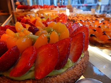 tarte aux fraises patisserie visonneau nantes