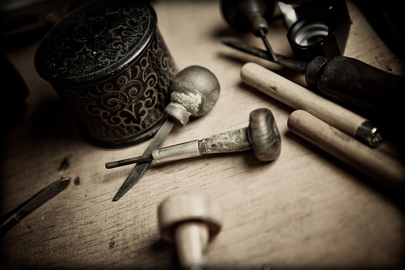 My Traditional Engraving Tools