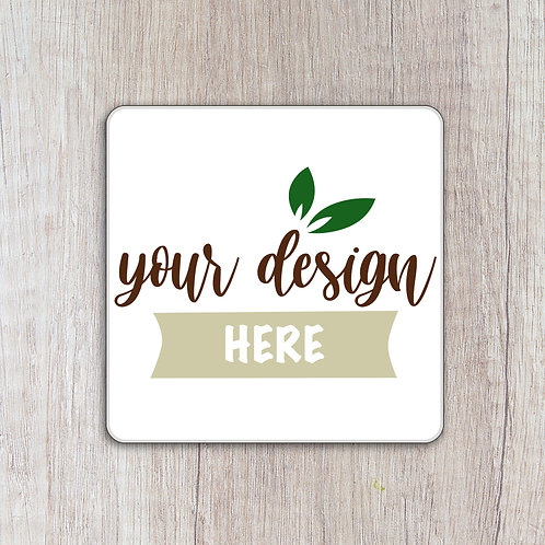 Personalised 37mm x 37mm Square Labels