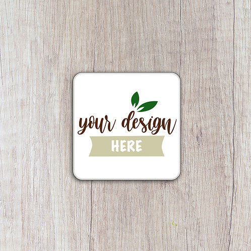 Personalised 25mm x 25mm Square Labels