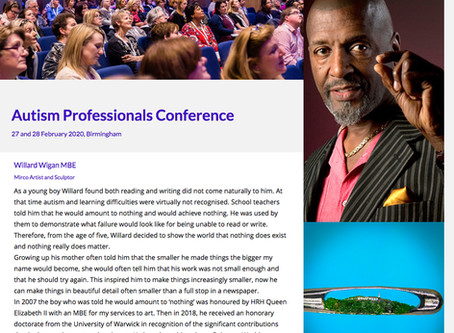 Autism Professional Conference 2020. 28-29th of February - Birmingham.