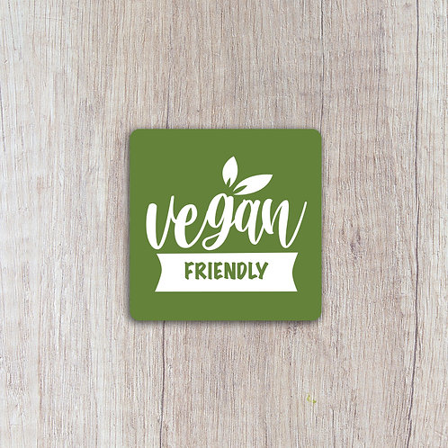 Vegan Friendly Labels
