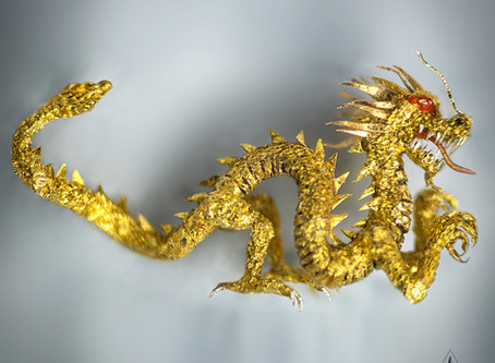 The Golden Dragon - One of the most difficult and complicated pieces ever undertaken