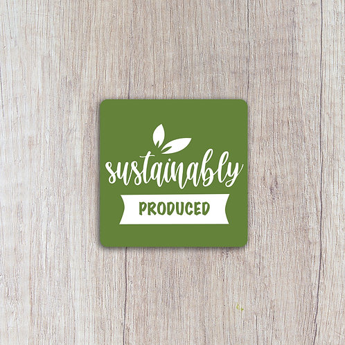 Sustainably Produced Labels