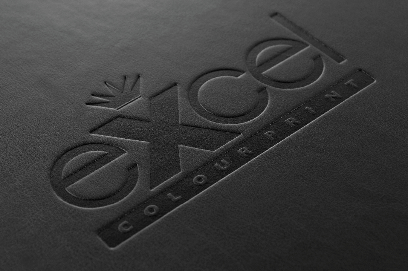 Excel Colour Print leather embossing
