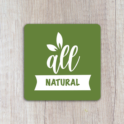 All Natural labels