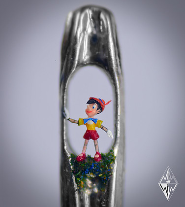 Pinnochio in the eye of a needle