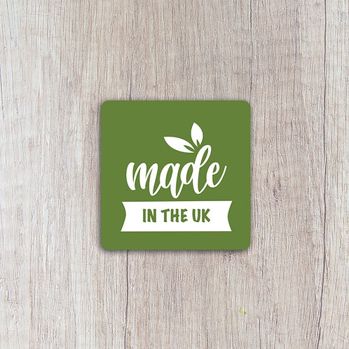 made in the UK labels