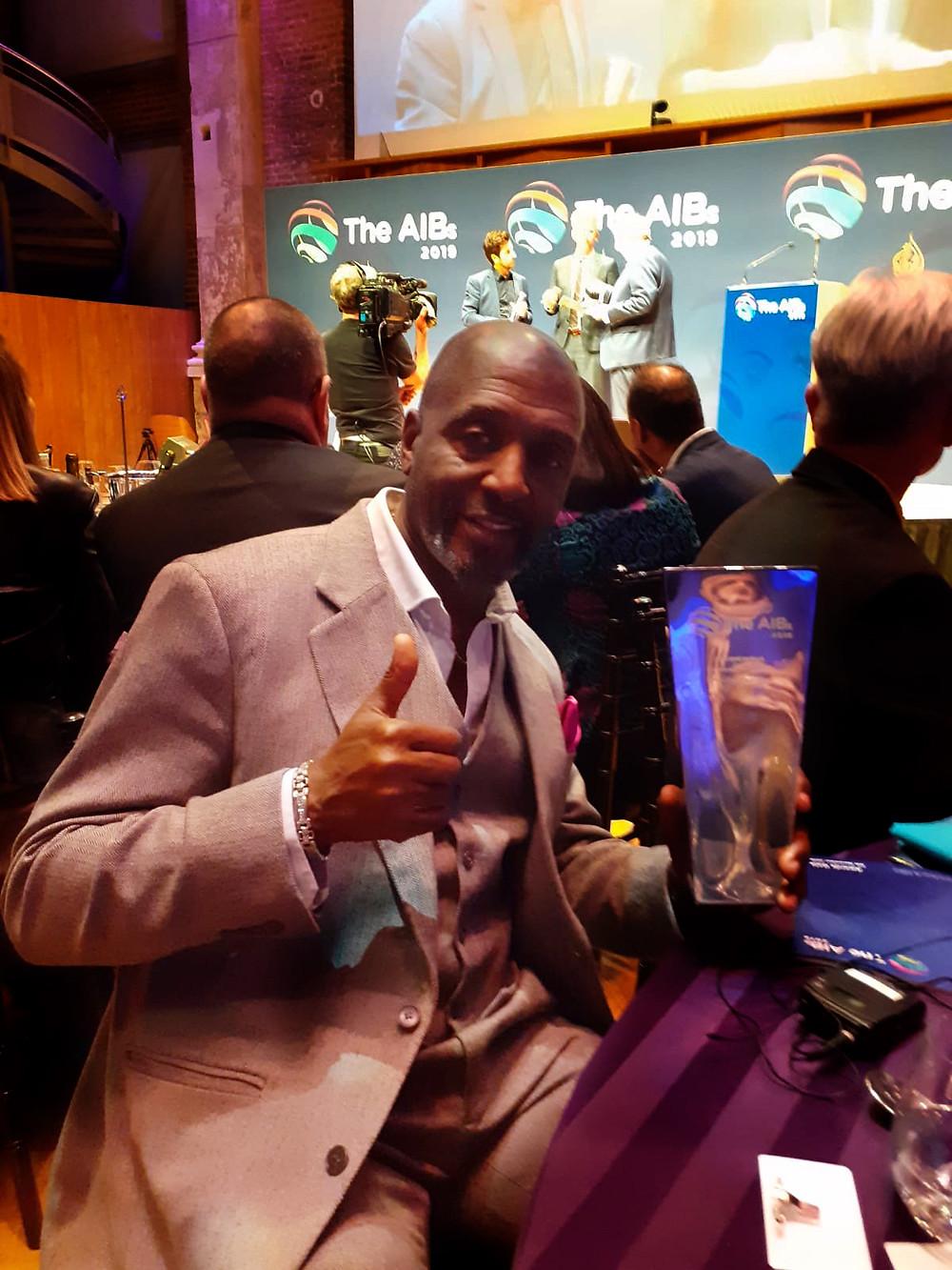 AIBs Awards Gala Winner Willard Wigan