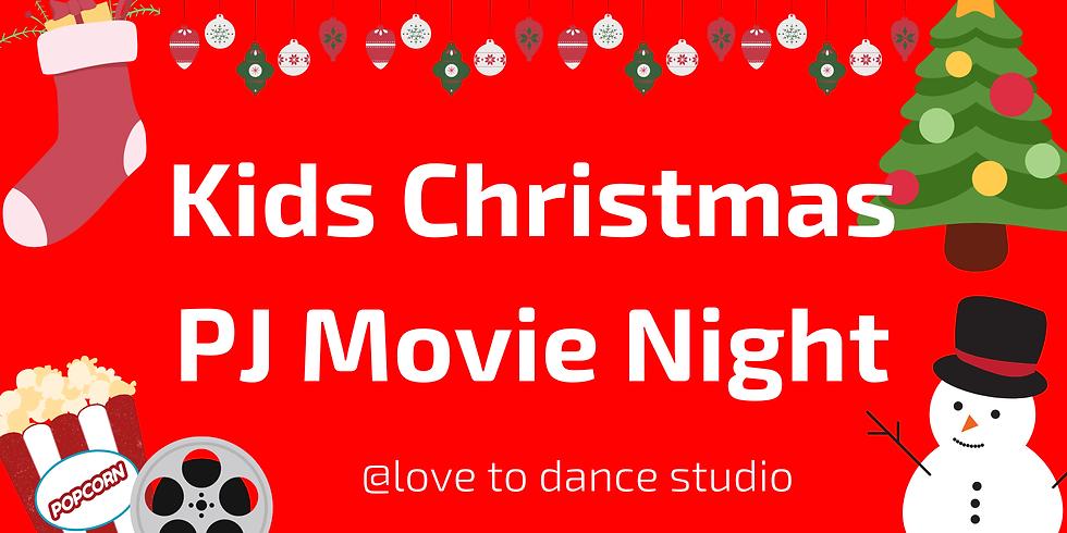 Kids Christmas PJ Movie Night
