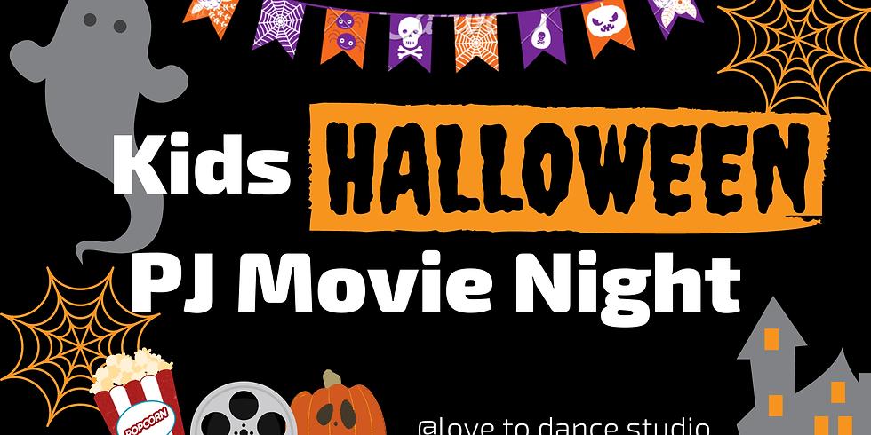 Kids Halloween PJ Movie Night