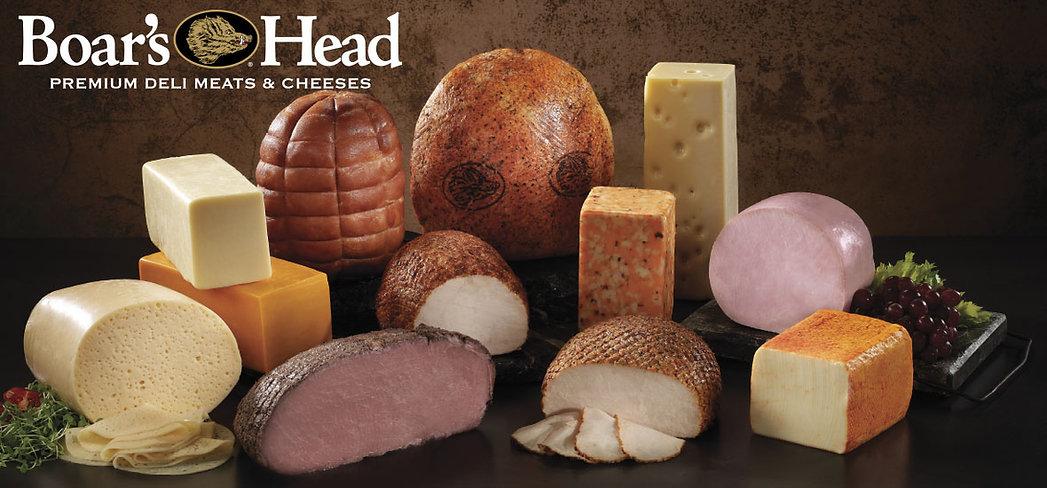 Boar's Head Meats & Cheeses Header