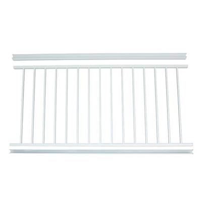 "Otoli Preassembled Powder Coated Aluminum Railing Panel 36"" x 6' - White"