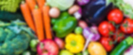 Fox Bros. Produce page header with lots of veggies