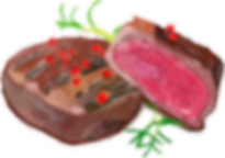 Steak Drawn Graphic