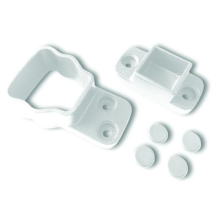 Otoli Straight Wall Mount Attach Kit - White