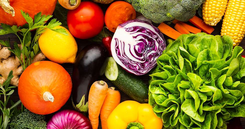 Fresh, delicious veggies