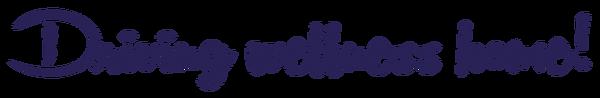 Driving Wellness Home Logo