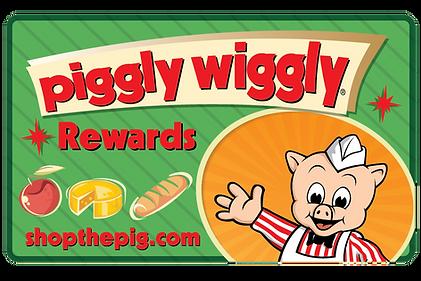 Piggly Wiggly Rewards Card