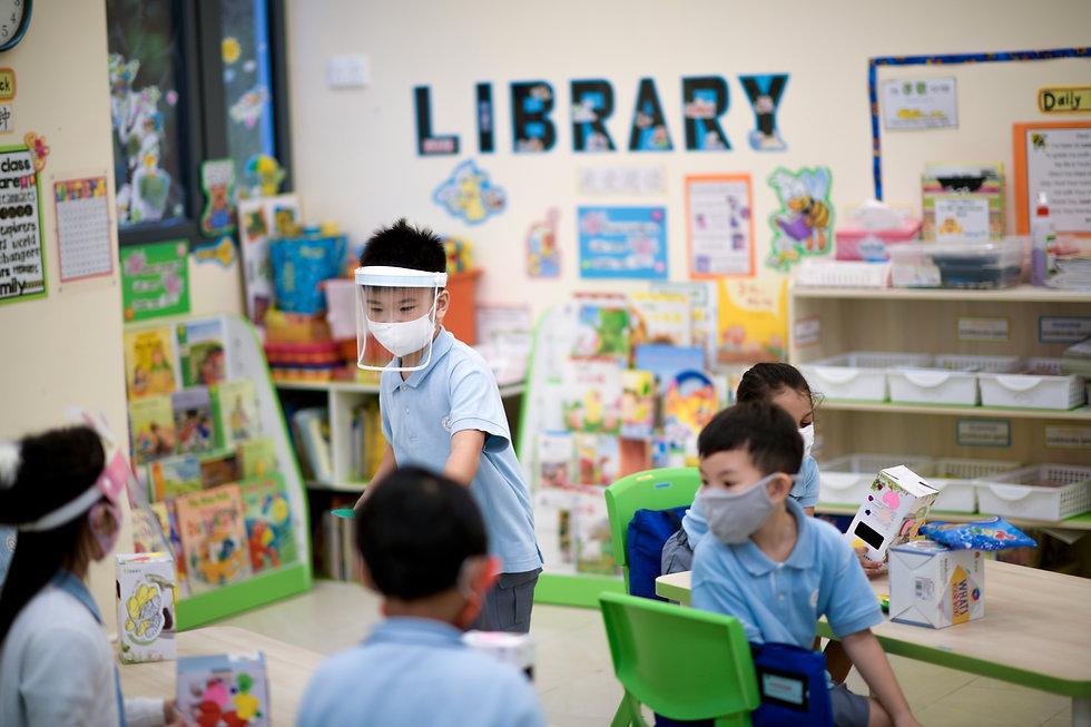 DGP Students Classroom Library 2020.jpg
