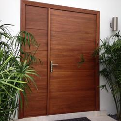 Strand, Mahogany Impact Entry Doors