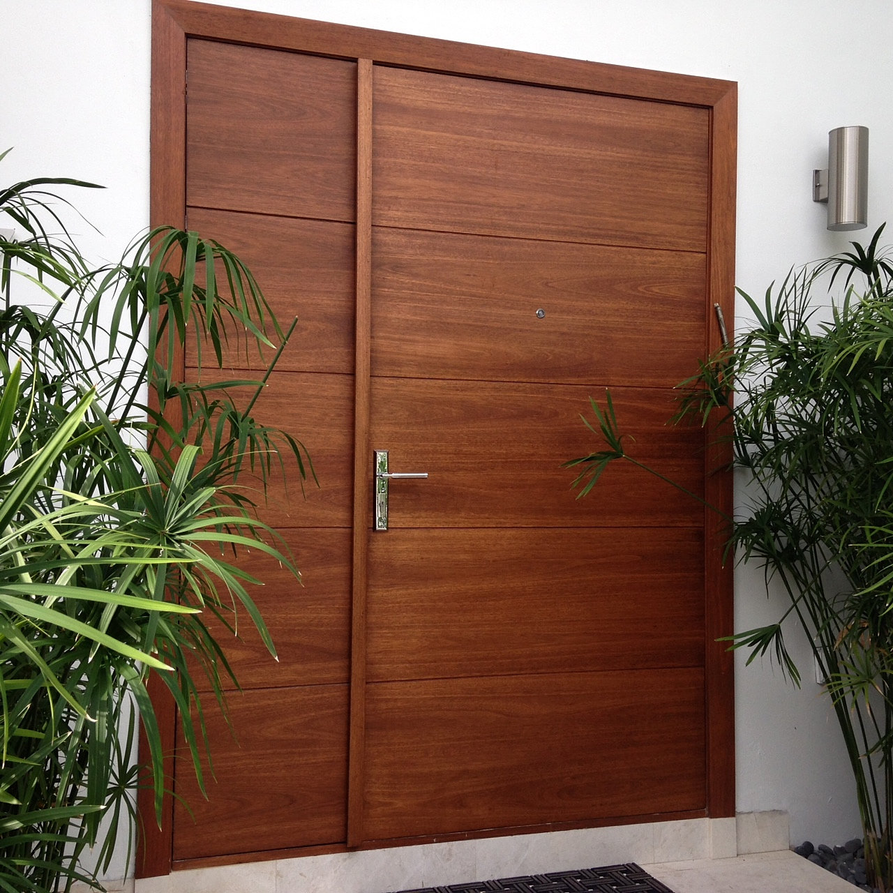 Approved Mahogany Entry Doors - Custom & Contemporary