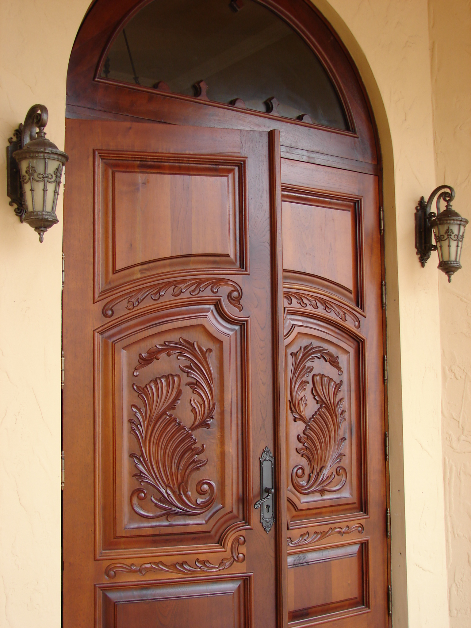Escorial,Mahogany Impact Entry Doors