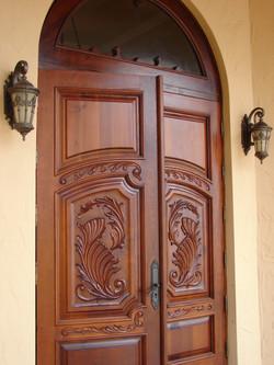 Escorial,Mahogany Impact Entry Doors