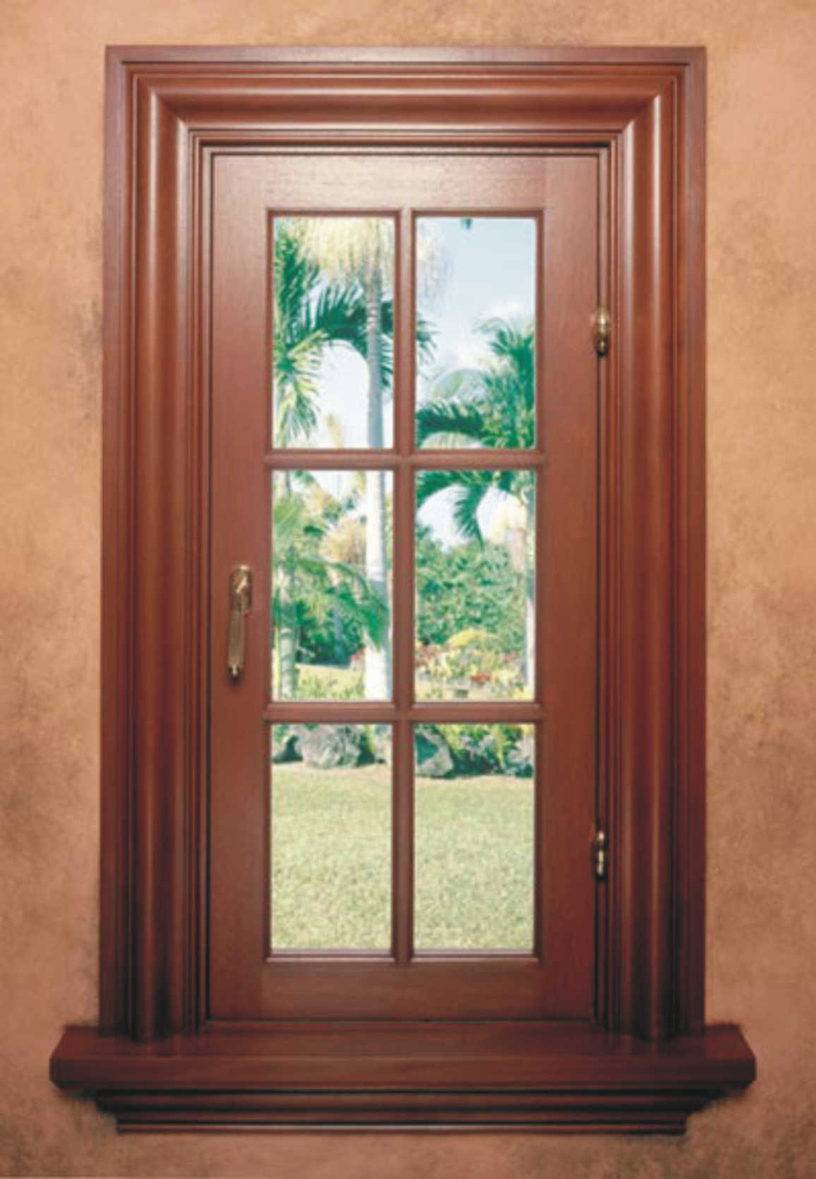Ramon, Mahogany Impact Windows