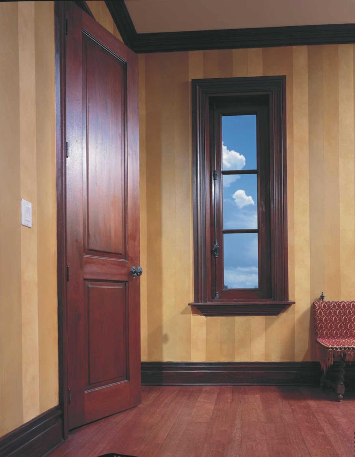 Roatan, Mahogany Impact Windows