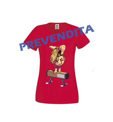 T-SHIRT EMMA TRAVE RED