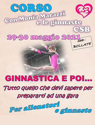 Corso 29-30 maggio 2021 - Bollate