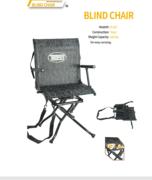 Trophy Blind Chair