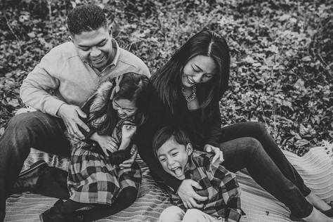 Family lifestyle photoshoot