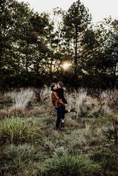 Couple's outdoor portrait