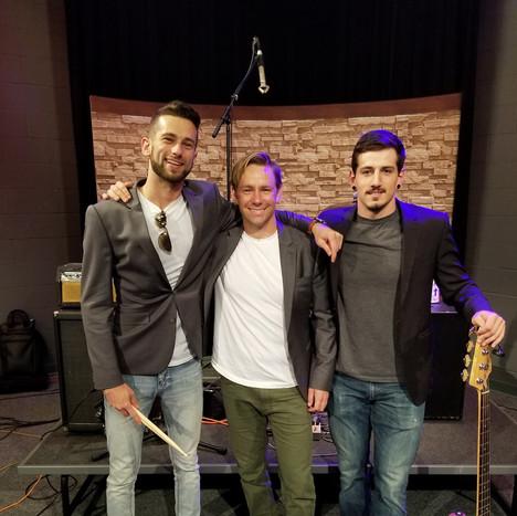 """Matt Schatza trio on, """" An Evening with Jimmy Good"""""""