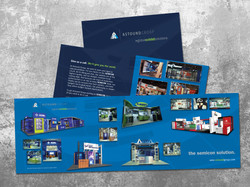 Trade show sales brochure