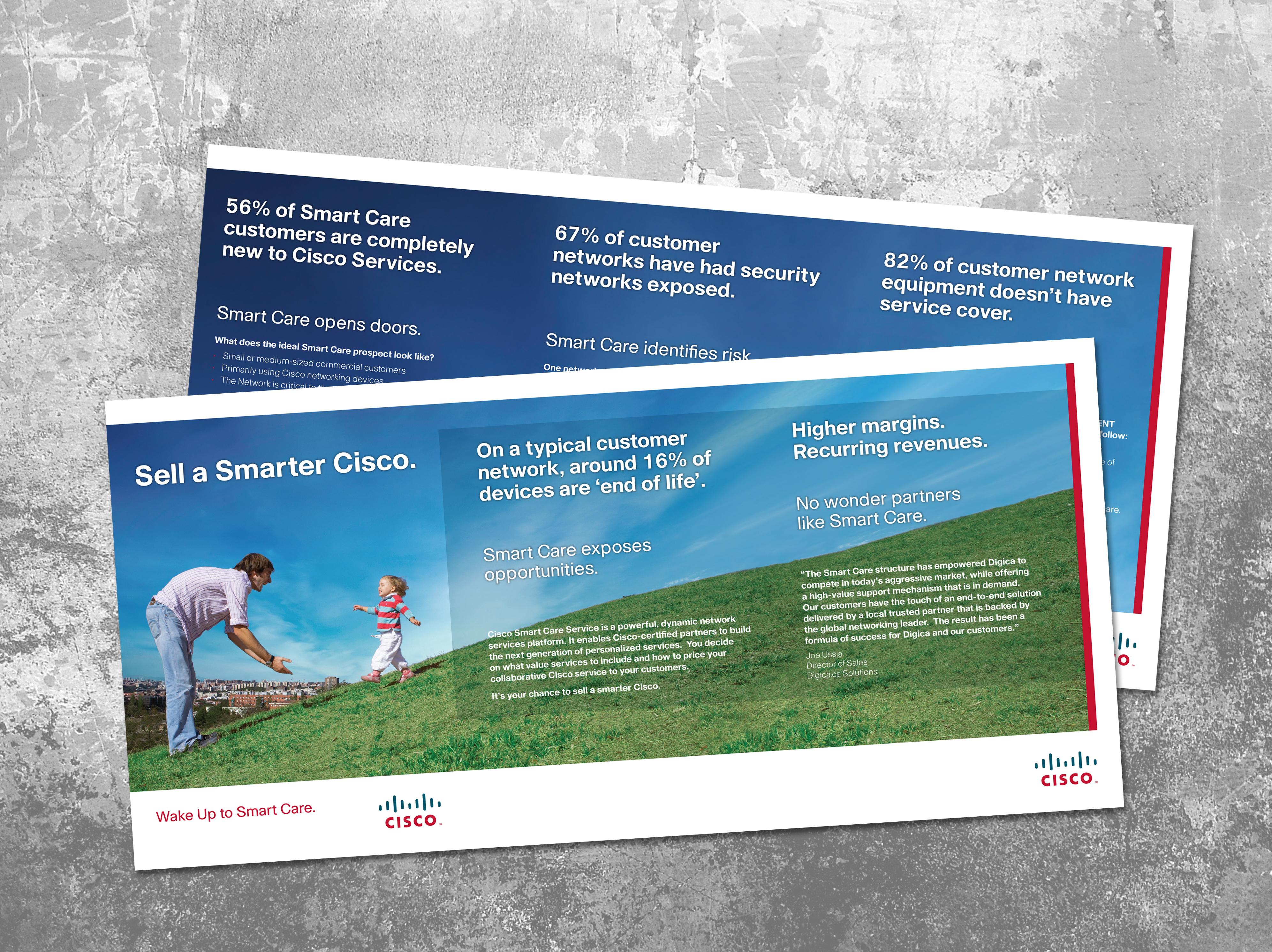 CISCO Vendor Channel Sales leaflet