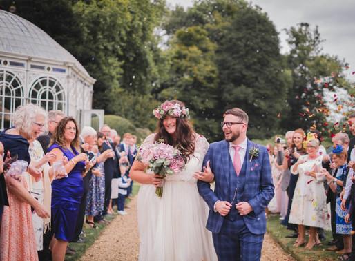 Emily & James' wedding at Avington Park