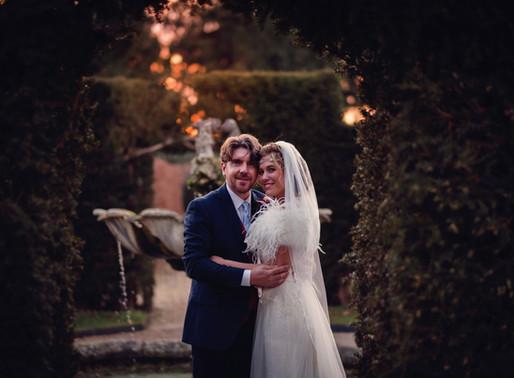 Carlie & Mark McNevin's Beautiful Beaulieu Wedding