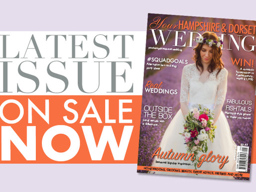 The Lavender Styled Shoot on the cover