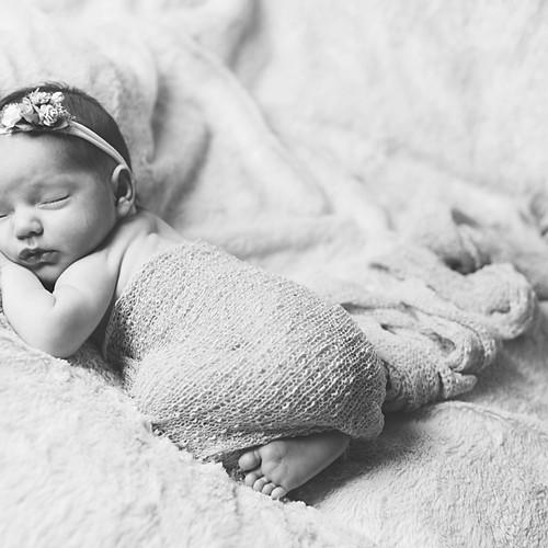 Newborn Baby Abigail