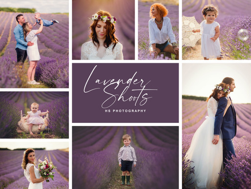 Book your Lavender Shoots here!