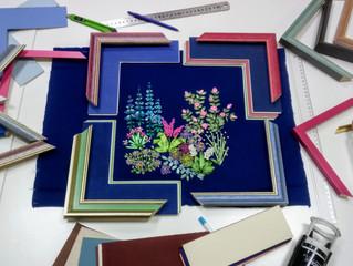 Как оформить вышивку и превратить ее в самую красивую настенную живопись