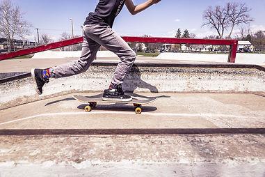 skateboard in park