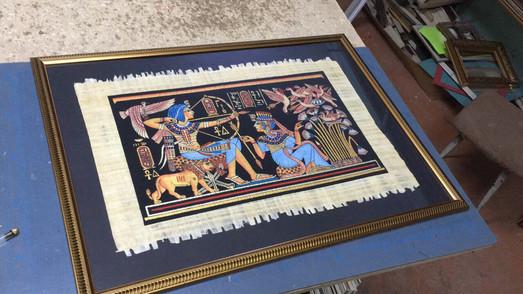 рамка для папируса с паспорту