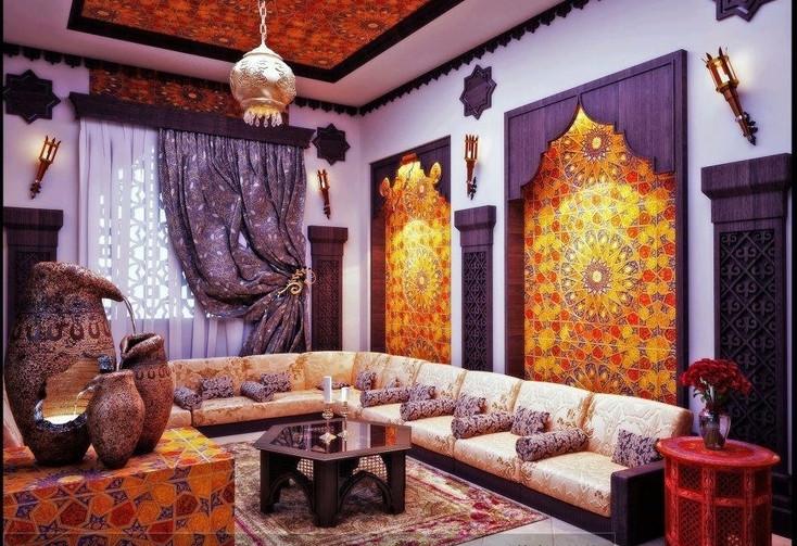 Марокканский стиль квартиры